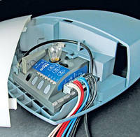 Комплект автоматики для гаражных ворот  Nice Spin21 KCE