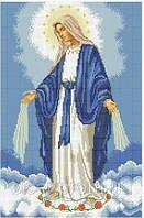 """Вишивання бісером. Схема """"Непорочне Зачаття Пресвятої Діви Марії""""."""