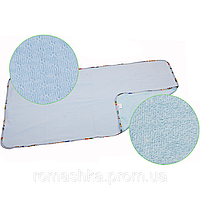 Двусторонняя дышащая непромокаемая пеленка многоразового использования, «Непромокайка CLASSIC ЭКО ПУПС», 50х70