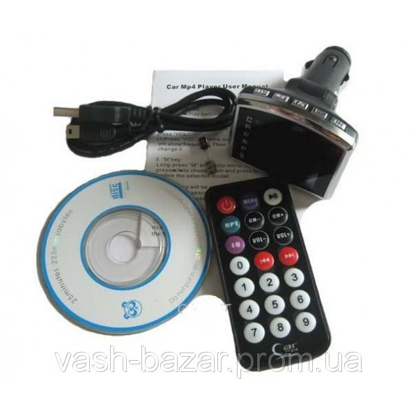 Автомобильный FM-Модулятор 1.8 + MP3, MP4 плеер, трансмиттер, авто модулятор купить + пульт ДУ куплю - фото 3