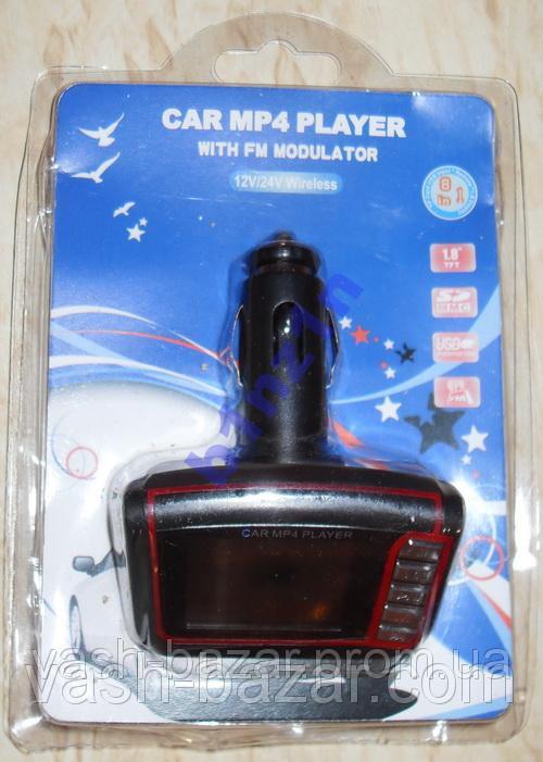 Автомобильный FM-Модулятор 1.8 + MP3, MP4 плеер, трансмиттер, авто модулятор купить + пульт ДУ куплю - фото 4