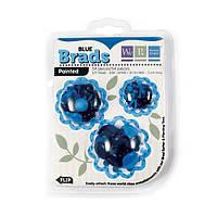 Брадсы We R Memory Keepers — Basic Brads Painted, 54 шт Blue