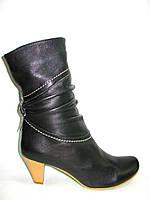 Сапожки женские кожаные Д112