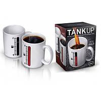 "Чашка хамелеон ""Tank Up"" с индикатором"