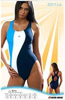Купальник спортивный женский закрытый Sesto Senso BW 716 (купальники женские)