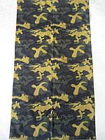 Камуфляжный летний бафф, buff, бесшовный шарф, повязка (#231)