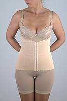 Женское корректирующее белье Пояс , 6 косточек, лазерная обработка верхних и нижних срезов