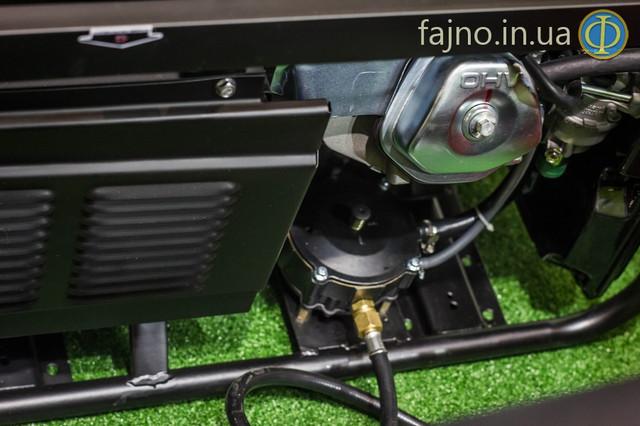 Комбинированый генератор газ бензин Hyundai HHY 3000 FG фото 2