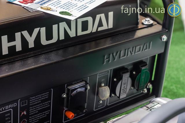 Комбинированый генератор газ бензин Hyundai HHY 3000 FG фото 4