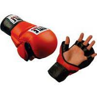 Перчатки для смешанных единоборств TITLE MMA Ultimate(красные)