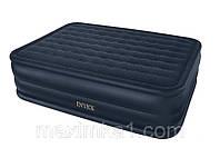 Надувная двуспальная матрас-кровать Intex 66718 с насосом