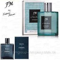 Мужская парфюмированная вода FM 327 аромат Chanel Bleu de Chanel (Шанель Блю) Парфюмерия FM Group