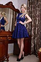 Платье ажурный гипюр