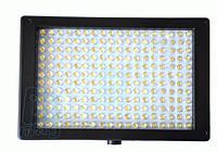 Накамерный светодиодный свет LED-216 + ДУ, 5600K (3200K/фильтр).