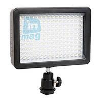 Накамерный светодиодный свет Wansen W160, 5600K (3200K/фильтр).