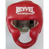 Шлем тренировочный REYVEL Винил Красный размер L