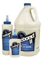 Клей для дерева Titebond® II Premium промышленный влагостойкий однокомпонентный класс D3 (США)