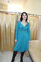 Трикотажное платье больших размеров, размер 50-52