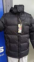 Куртка-жилетка мужcкая на синтепоне чёрная S. Киев