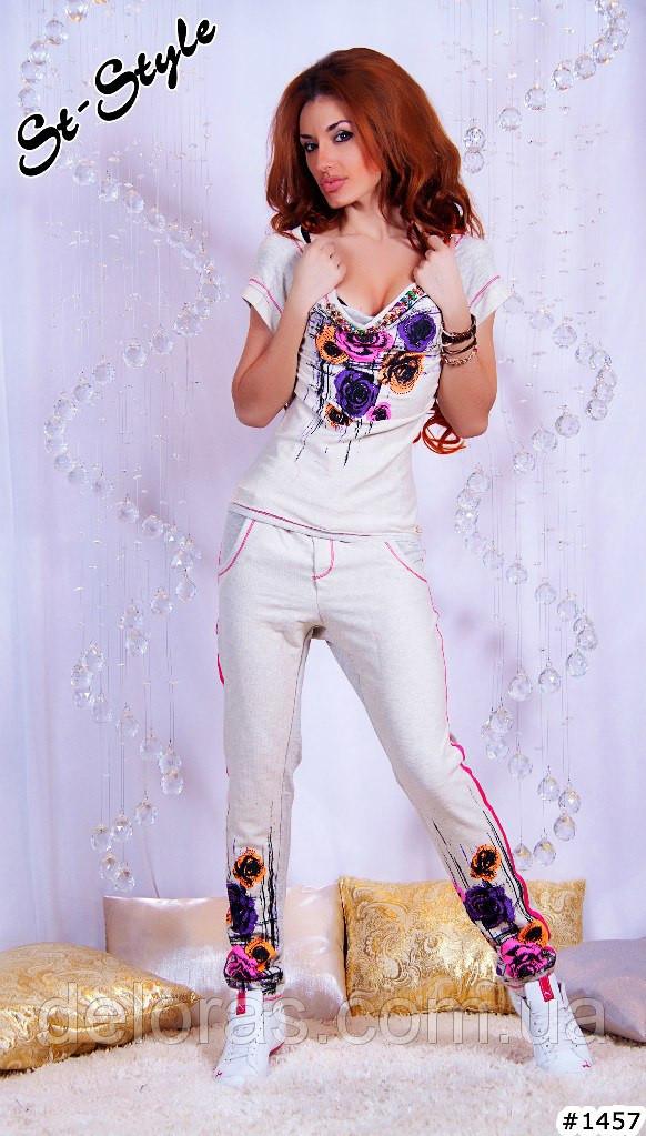 Гламурный костюм женский