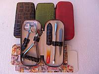 Маникюрный набор Niegelon satin с хрустальной пилочкой (5 предметов)