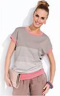Блузка, кофточка женская с коротким рукавом Zaps Delia большого размера