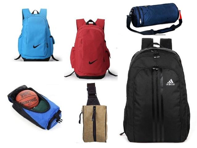 Рюкзаки и сумки спортивные, повседневные, дорожные.
