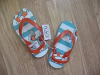 Обувь для пляжа (флипы) для мальчиков 4/5р.
