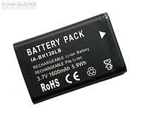 Аккумулятор для видеокамеры Samsung IA-BH130LB, 1600 mAh.