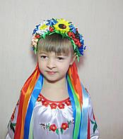 Украинский венок ручной работы