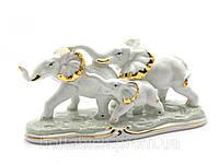 Статуэтка Слоны 3 шт из фарфора