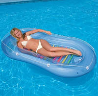Пляжный надувной матрас-лодка Intex 58875 , 208х122 см