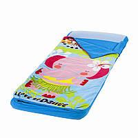 Детский надувной матрас кукла Элли Intex 66802 , 152x64x20 см