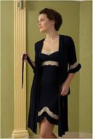 Халат Shato - 415/1 (женская одежда для сна, дома и отдыха, домашняя одежда, ночная)