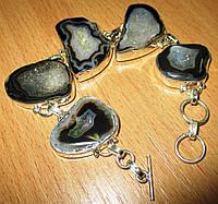 Материал бижутерии - ювелирный сплав, который не содержит никеля и не вызывает аллергию