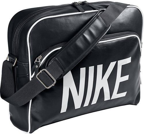Городская, повседневная сумка из кожзама Nike BA4358-011 черный