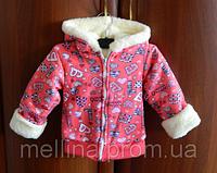 Куртка для девочки. Толстовка детская на рост 69-72см