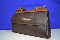 Классическая женская сумка SalvadoroFeragamo не большого размера новая коллекция 2014