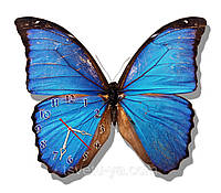 """Настенные часы """"бабочки"""" (30х35 см), часы для дома, часы для детской"""