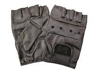 Кожаные перчатки без пальцев из воловьей кожи, MFH, Германия