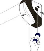 Комплект электропривода для гаражных секционных ворот Nice  SO 2000