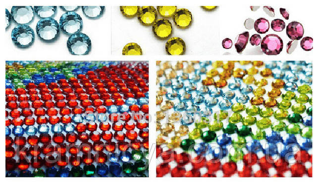Что сделать из страз от алмазной вышивки
