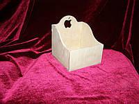 Короб с яблочком (14 х 14 х 15,5 см)
