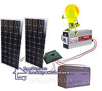 """Сонячна електростанція """"Міні дача"""" 200 Вт*год, фото 1"""