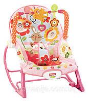 """Кресло-качалка Fisher-Price от 0 до 18 кг. Массажное  """"Банни"""""""