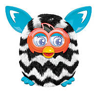 Furby Boom (Zigzag Stripes) Интерактивный питомец Ферби Бум ОРИГИНАЛ