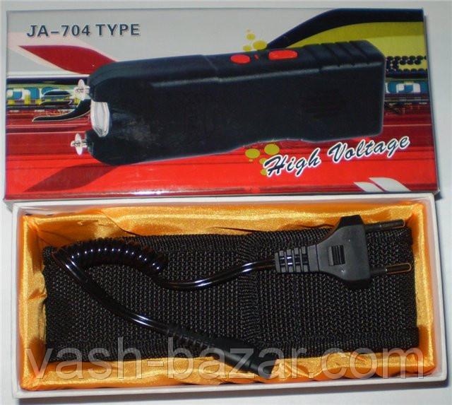 Электрошокер - фонарь Оса JA-704 reinforced (шокер 704) купить, куплю - фото 1
