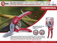 Секатор садовый c наковаленкой, Intertool FT-1009 ручка комбинированная,  сталь SK5, рез 12 мм
