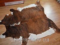 Шкура коровы коричнево-белая 04