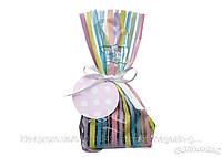 Пакетики для сладостей в полоску с лентой Sweetly Does It Kitchen Craft 12шт (435835)